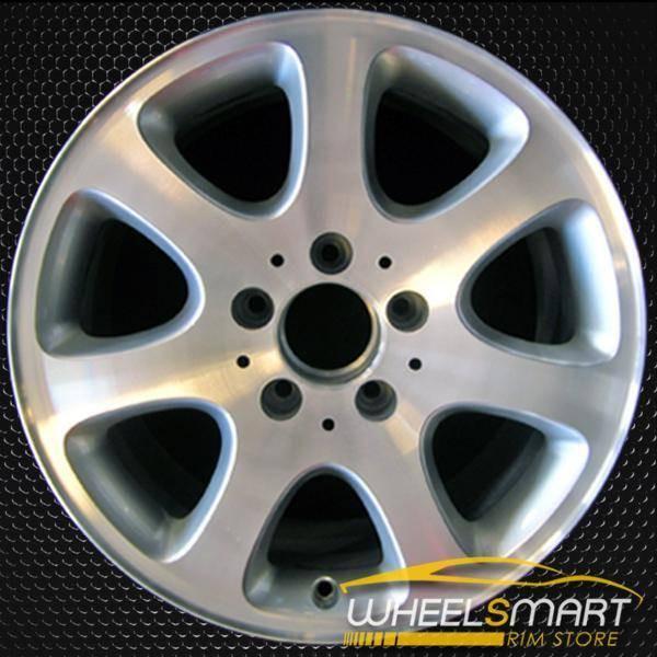 "16"" Mercedes CLK320 OEM wheel 2003-2004 Machined alloy stock rim ALY65287U10"