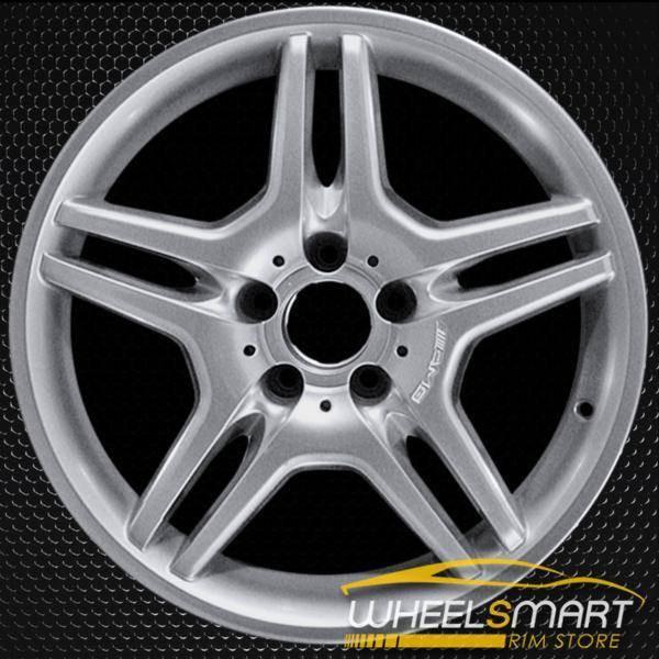 "18"" Mercedes E55 OEM wheel 2003-2006 Hypersilver alloy stock rim ALY65317U78"