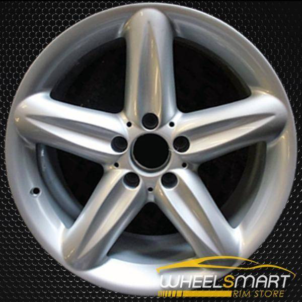 "18"" Mercedes SL500 OEM wheel 2004-2006 Hypersilver alloy stock rim ALY65322U78"