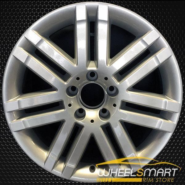 """17"""" Mercedes C300 OEM wheel 2008-2009 Silver alloy stock rim ALY65522U20"""