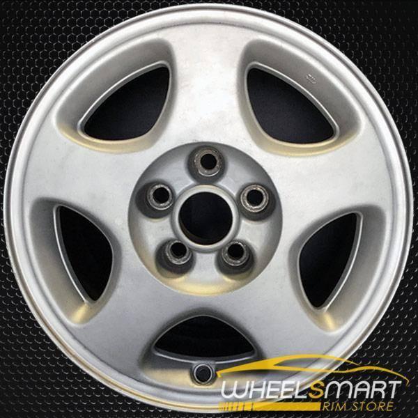 "16"" Mitsubishi 3000GT OEM wheel 1991-1993 Silver alloy stock rim ALY65705U10"