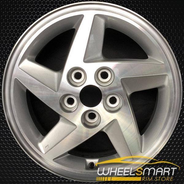 "16"" Mitsubishi Eclipse OEM wheel 1993-1996 Silver alloy stock rim ALY65722U10"