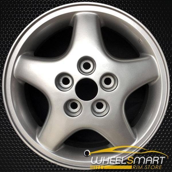 "15"" Mitsubishi Diamante OEM wheel 1994-1996 Silver alloy stock rim ALY65734A20"
