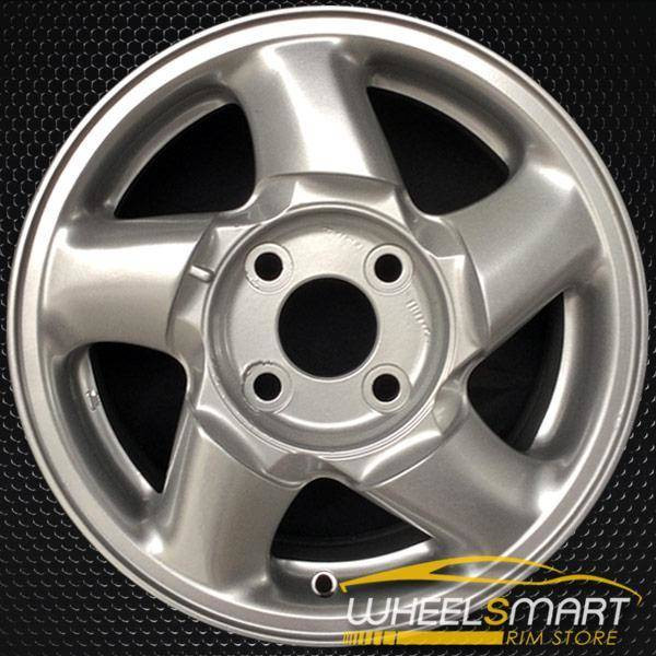 "15"" Mitsubishi Galant OEM wheel 1994-1996 Silver alloy stock rim ALY65737U10"