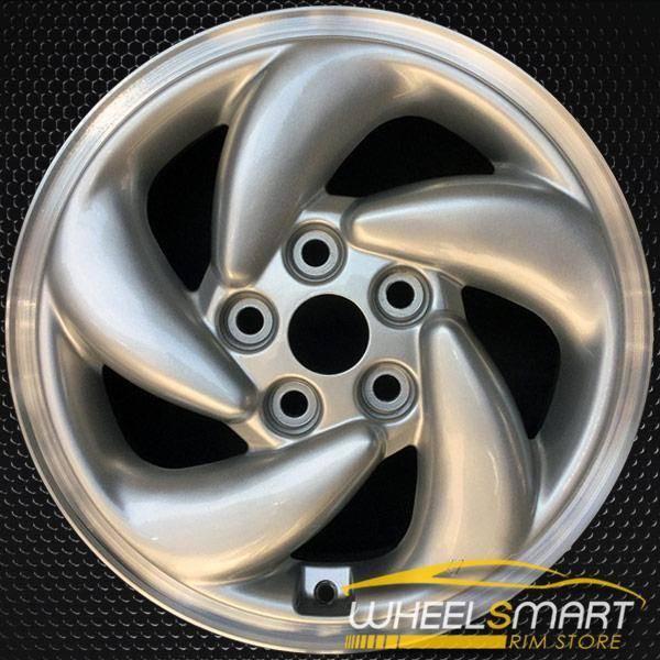 "16"" Mitsubishi Eclipse OEM wheel 1995-1996 Silver alloy stock rim ALY65748U10"