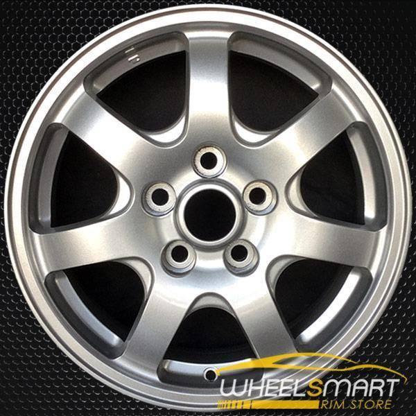 "16"" Mitsubishi Diamante OEM wheel 1997-1999 Silver alloy stock rim ALY65757U20"