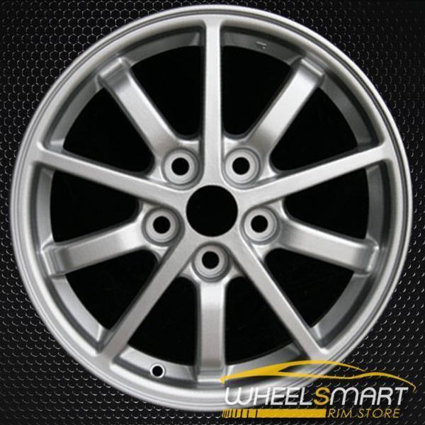 "16"" Mitsubishi Eclipse OEM wheel 2000-2002 Silver alloy stock rim ALY65771U10"