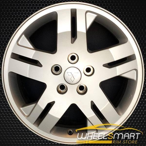 "17"" Mitsubishi Endeavor OEM wheel 2004-2008 Silver alloy stock rim ALY65791U20"