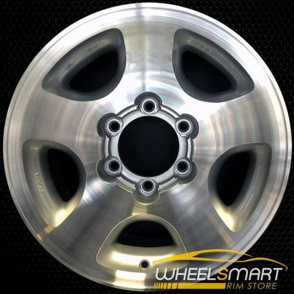 "16"" Toyota Land Cruiser OEM wheel 1993-1998 Machined alloy stock rim ALY69314A10"