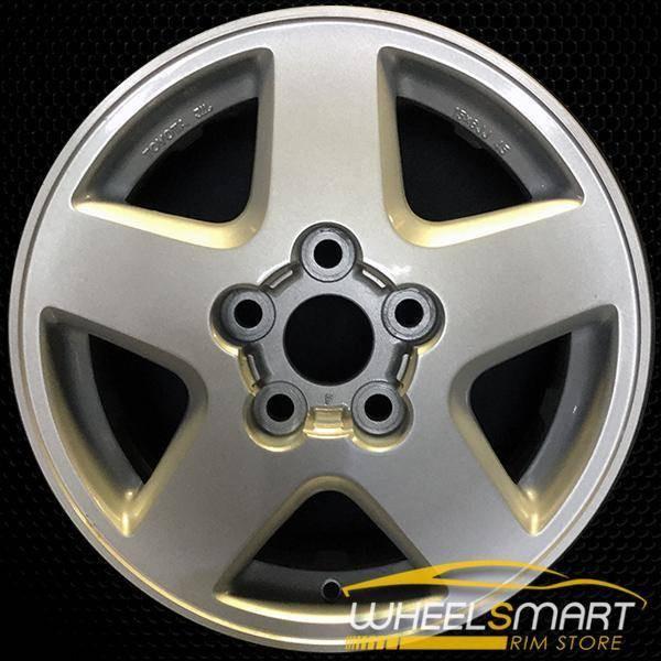 "15"" Toyota MR2 OEM wheel 1992-1995 Silver alloy stock rim 69316 ALY69316U10"