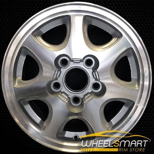 "15"" Toyota Camry OEM wheel 1994-1996 Machined alloy stock rim ALY69326U10"