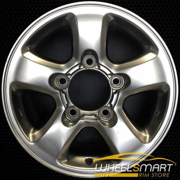 "16"" Toyota Land Cruiser OEM wheel 1998-2002 Silver alloy stock rim ALY69380U10"