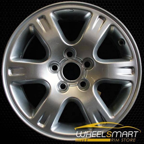 "16"" Toyota Highlander OEM wheel 2001-2007 Silver alloy stock rim ALY69397U10"