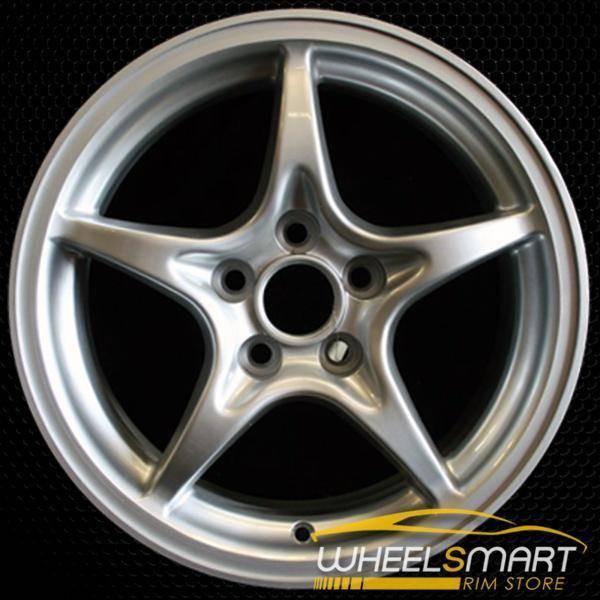 "15"" Toyota MR2 OEM wheel 2000-2002 Silver alloy stock rim ALY69399U10"