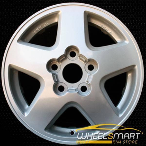 "15"" Toyota Camry OEM wheel 2001 Machined alloy stock rim ALY69413U10"