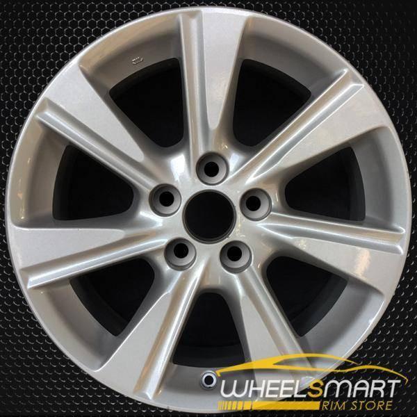"17"" Toyota Highlander OEM wheel 2011-2013 Silver alloy stock rim ALY69580U20"