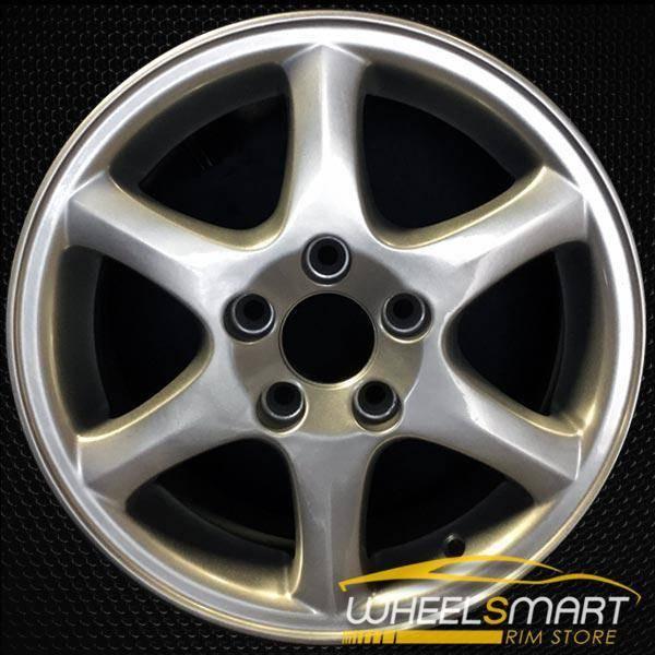 """15"""" Volvo S70 OEM wheel 1998-2000 Silver alloy stock rim ALY70204U10"""