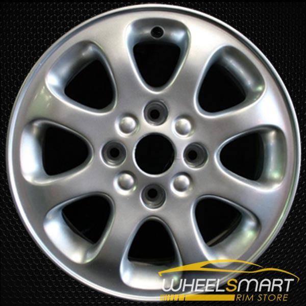"""15"""" Volvo S40 OEM wheel 2000-2004 Silver alloy stock rim ALY70236U10"""