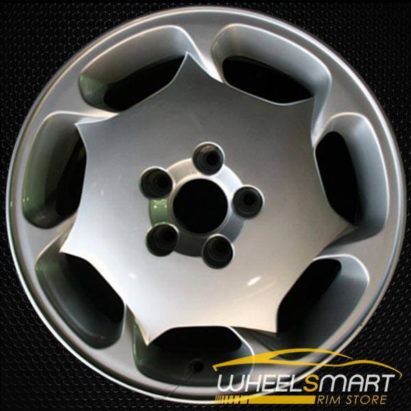"16"" Volvo S90 OEM wheel 1997-1998 Hypersilver alloy stock rim ALY70240U78"