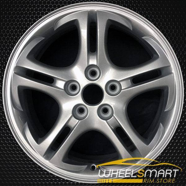 "17"" Hyundai Tiburon OEM wheel 2003-2006 Silver alloy stock rim ALY70701U20"
