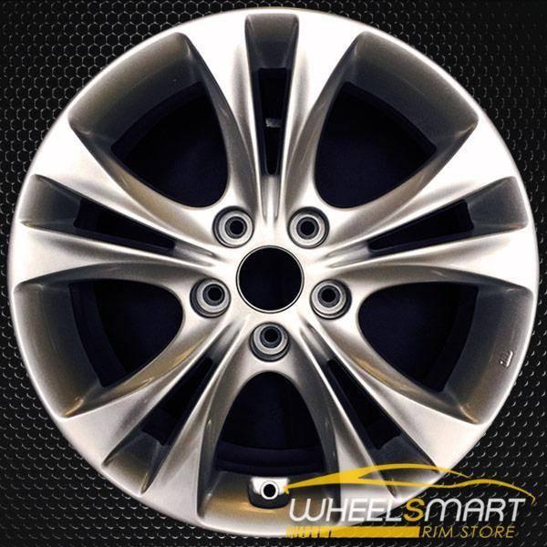 """17"""" Hyundai Sonata OEM wheel 2011-2013 Silver alloy stock rim ALY70803U20"""