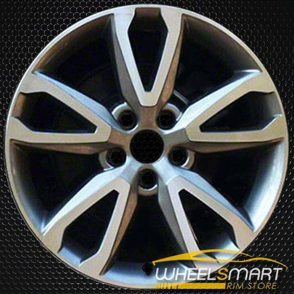 "18"" Hyundai Santa Fe OEM wheel 2014-2016 Machined alloy stock rim ALY70855U35"