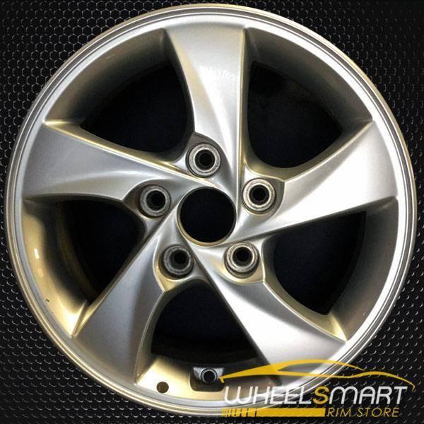 """15"""" Hyundai Elantra OEM wheel 2014-2016 Silver alloy stock rim ALY70858U20"""