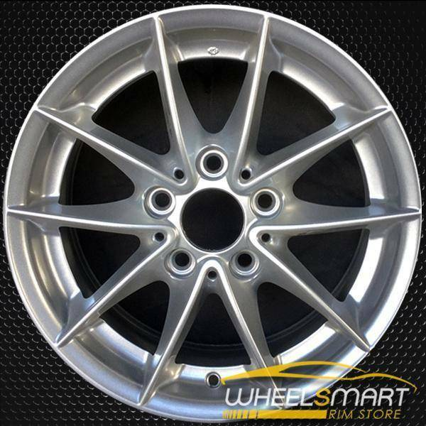 "16"" BMW 128i OEM wheel 2008-2013 Silver alloy stock rim ALY71401U20"