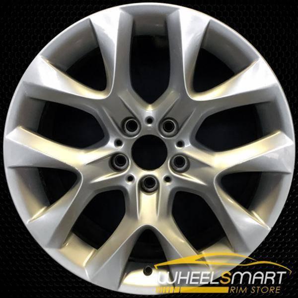"19"" BMW X5 OEM wheel 2011-2013 Silver alloy stock rim ALY71440U20"