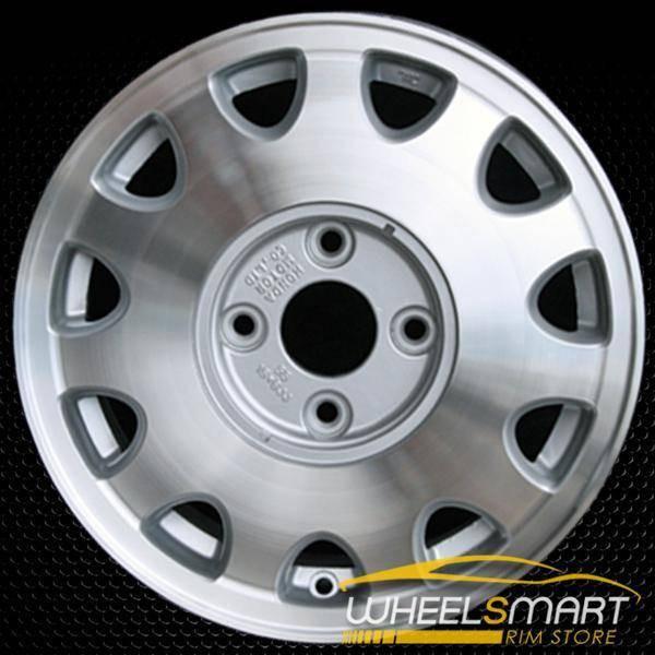"15"" Acura Vigor OEM wheel 1992-1994 Silver alloy stock rim ALY71655U10"