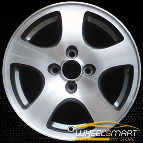 "15"" Acura Integra OEM wheel 1994-1995 Machined alloy stock rim ALY71660U10"
