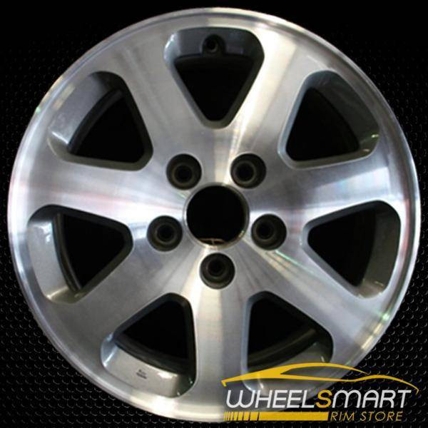 "16"" Acura CL OEM wheel 2001-2002 Machined alloy stock rim ALY71714U10"