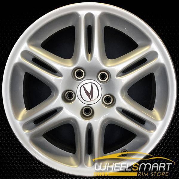 "17"" Acura CL OEM wheel 2003 Silver alloy stock rim ALY71725U20"