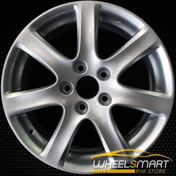 "17"" Acura TSX OEM wheel 2004-2005 Silver alloy stock rim ALY71731U20"