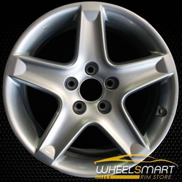 "17"" Acura TL OEM wheel 2006 Silver alloy stock rim ALY71749U20"