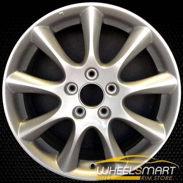 "17"" Acura TSX OEM wheel 2006-2008 Silver alloy stock rim ALY71750U20"