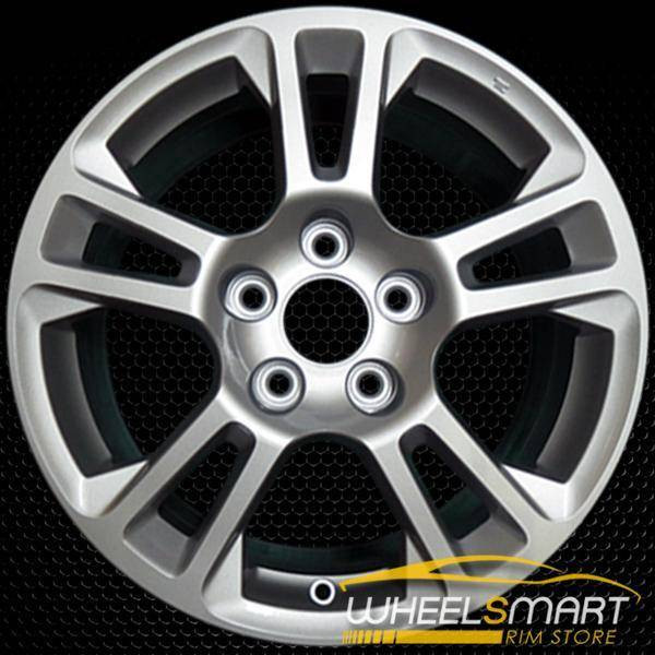 "17"" Acura TL OEM wheel 2009-2011 Silver alloy stock rim ALY71785U20"