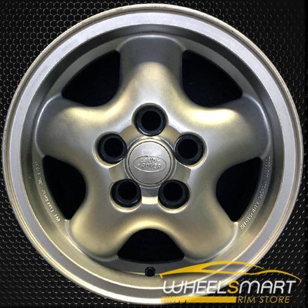 "16"" Land Rover Range Rover OEM wheel 1995-2001 Silver alloy stock rim ALY72145U10"