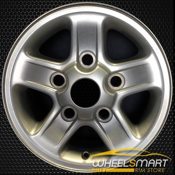 """16"""" Land Rover Discovery OEM wheel 1997-1998 Silver alloy stock rim ALY72150U10"""
