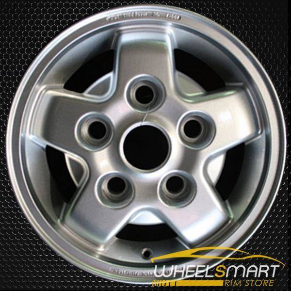 """16"""" Land Rover Discovery OEM wheel 2000-2002 Silver alloy stock rim ALY72161U20"""