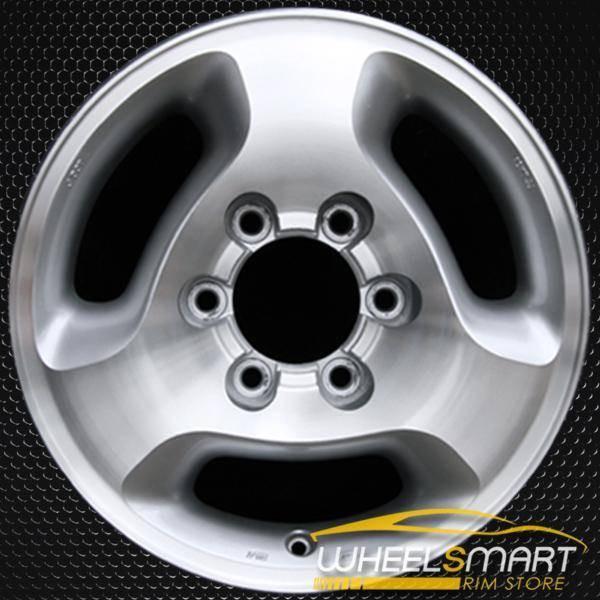 "16"" Infiniti QX4 OEM wheel 1997-2002 Machined alloy stock rim ALY73649U10"