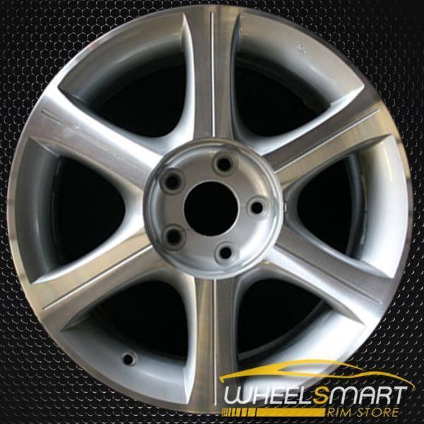 "17"" Infiniti I35 OEM wheel 2002-2004 Machined alloy stock rim ALY73661U20"