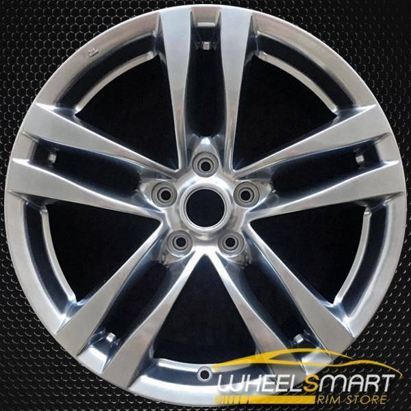 "18"" Infiniti G37 OEM wheel 2008-2009 Hypersilver alloy stock rim ALY73702U77"