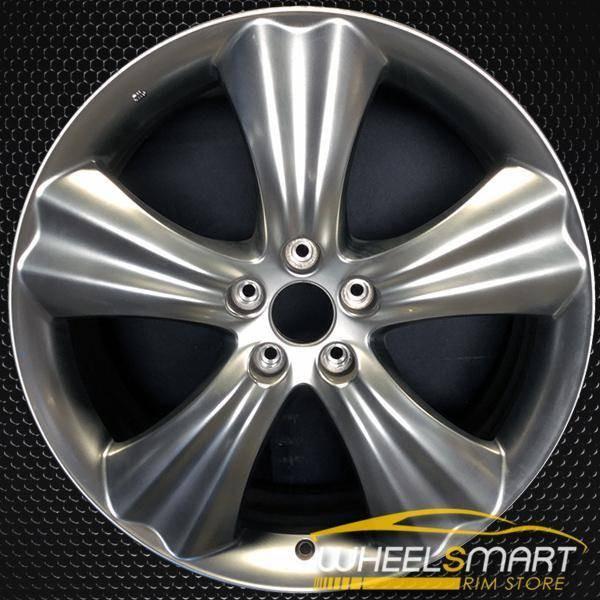 "20"" Infiniti FX OEM wheel 2010-2011 Silver alloy stock rim ALY73714U20"