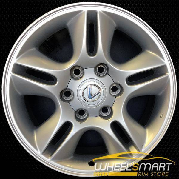 "17"" Lexus GX470 OEM wheel 2003-2009 Silver alloy stock rim ALY74167U20"