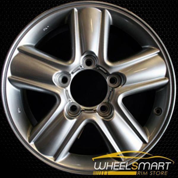 "18"" Lexus LX470 OEM wheel 2005-2016 Hypersilver alloy stock rim ALY74186U78"