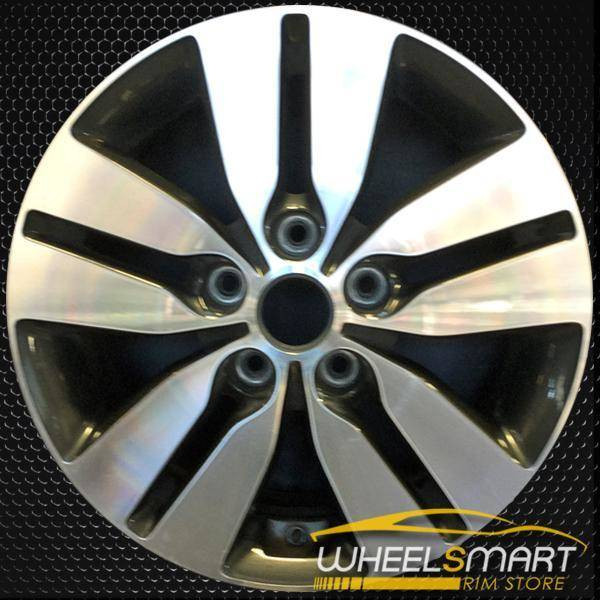 "16"" Kia Forte OEM wheel 2013 Machined alloy stock rim ALY74672U35"