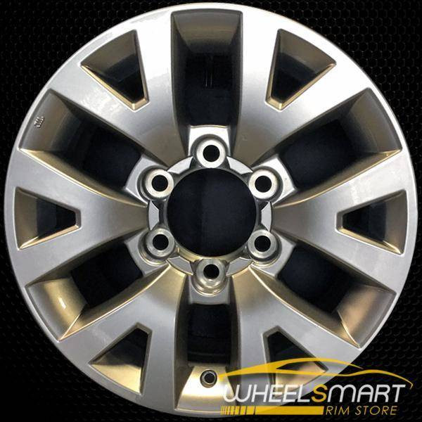 "16"" Toyota Tacoma OEM wheel 2016-2018 Silver alloy stock rim ALY75190U20"