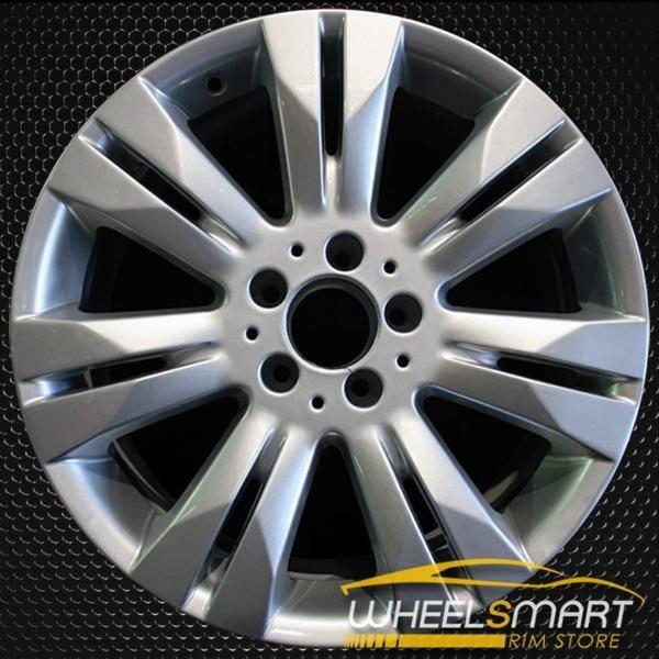 "18"" Mercedes S550 OEM wheel 2009 Silver alloy stock rim ALY85075U20"