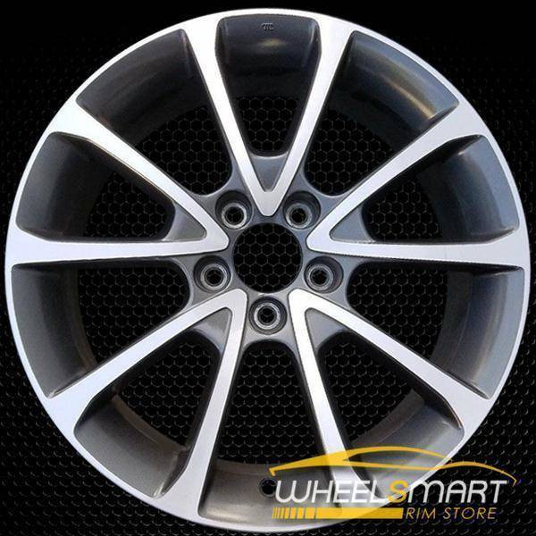 "18"" Acura TLX oem wheel 2015-2018 Machined alloy stock rim 71827"
